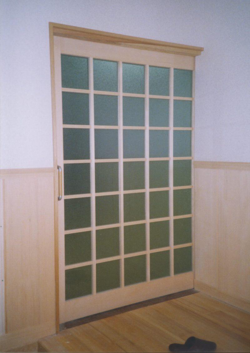 格子 ガラス戸