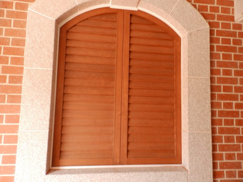 米松 よろい戸 框戸